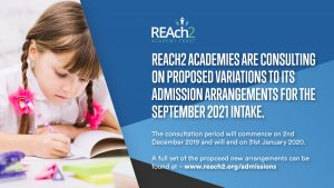 Reach2 Academy Trust >> Admissions Policy Green Park Village Primary Academy